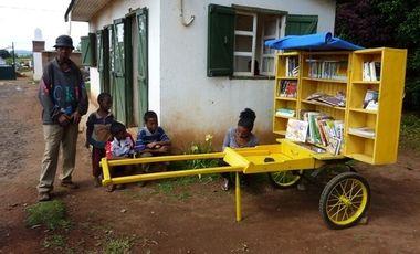 Visuel du projet BiblioPousse à Antsirabe, Madagascar
