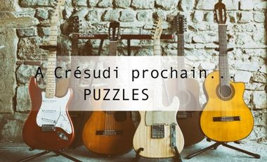 Project visual A Crésudi prochain... Puzzles