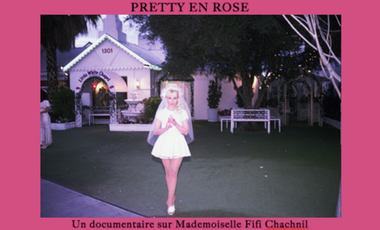 Project visual Fifi Chachnil : Pretty en Rose