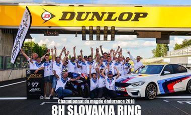 Visueel van project 8H DE SLOVAKIA RING : Soutenez le team PLUSRACE/GARAC