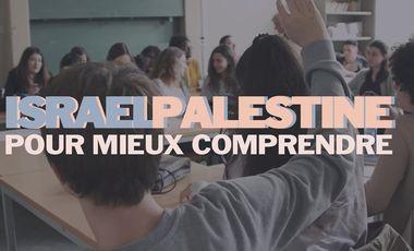 Visueel van project Israël-Palestine : pour mieux comprendre