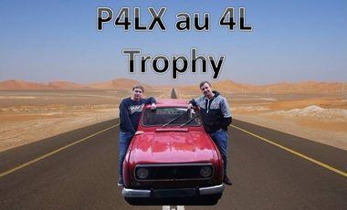 Project visual Participation au 4L Trophy