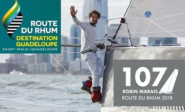 Project visual Objectif Route du Rhum 2018