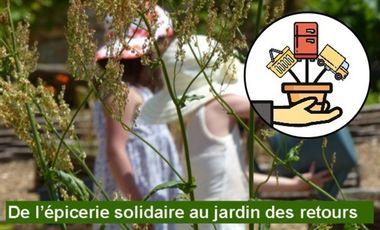 Project visual De l'épicerie solidaire au jardin des retours