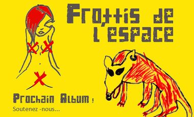 Project visual Frottis de l'espace - Nouvel Album !!! Help