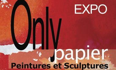 Visueel van project ONLY PAPIER, 20 artistes à Lyon
