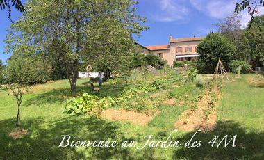 "Visueel van project Bienvenue au ""Jardin des 4M"""