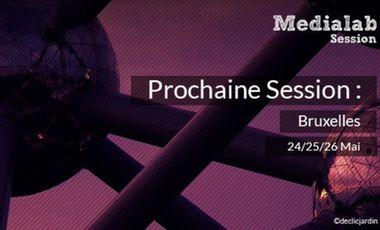 Visuel du projet Medialab Session // Bruxelles
