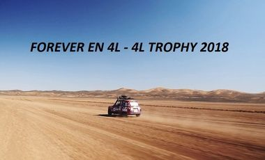Project visual Forever en 4L - 4L Trophy 2018