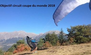 Project visual Objectif circuit coupe du monde de parapente