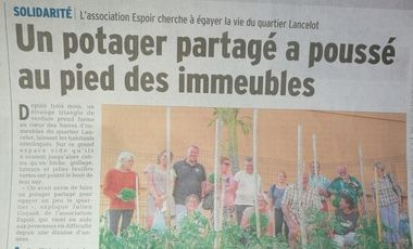 Visueel van project Acquisition mobilier de jardin - Jardin solidaire