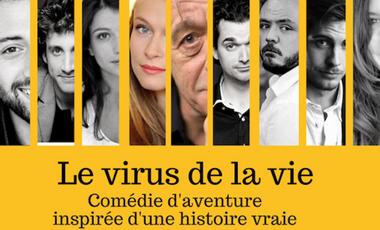Visueel van project Le virus de la vie
