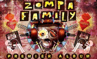Visuel du projet Premier album Zompa Family - Soutien le pressage du Cd !