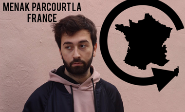 Project visual Menak parcourt la France !