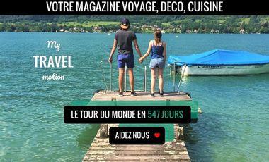 Project visual My Travel Motion - Votre magazine Voyage  Déco  Cuisine
