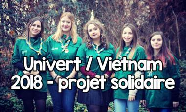 Visueel van project Univert / Vietnam 2018 - projet solidaire