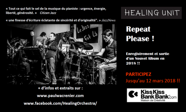 "Project visual Healing Unit: ""Repeat Please!"" Nouvel Album en 2018!!"