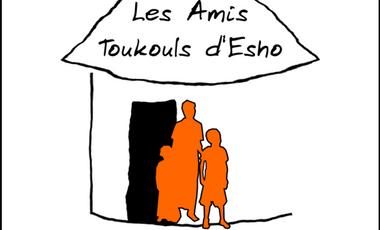 Project visual Les Amis Toukouls d'Esho