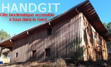 Visueel van project Handgit - premier gîte bioclimatique accessible à tous dans le Gard  (30)