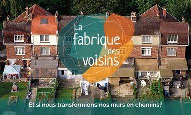 """Visueel van project Bxl ² présente """"La Fabrique des Voisins"""""""