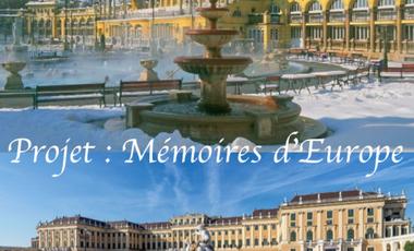 Visuel du projet Projet étudiant : Mémoires d'Europe
