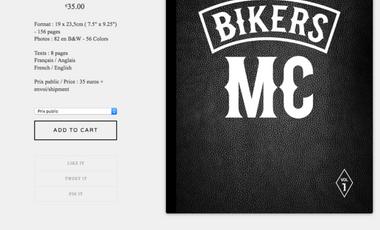 Visuel du projet Bikers MC