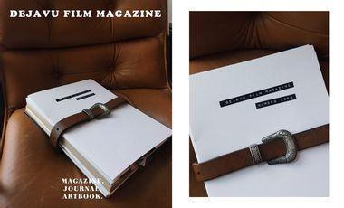 "Visuel du projet Art-book "" Déjà Vu Film Magazine """