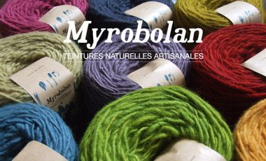 Visueel van project MYROBOLAN - teintures naturelles artisanales -