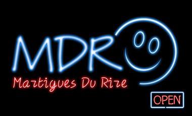 Project visual Le MDR, Martigues Du Rire