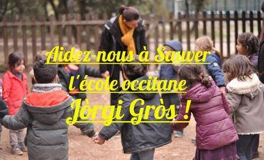 Visuel du projet Aidez-nous à Sauver l'école occitane Jòrgi Gròs !