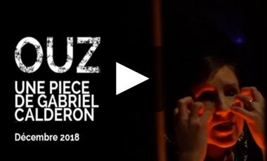 Project visual Le COLLECTIF LYCOPINA présente sa nouvelle pièce OUZ de Gabriel CALDERON