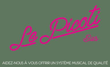 Visueel van project Financez Un nouveau Matériel sonore pour le Picoti (Mairie de la Nuit ds le 18)