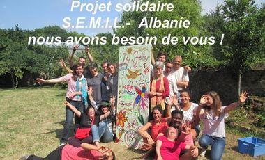 Visuel du projet Aidez-nous pour un projet solidaire du SEMIL en Albanie !