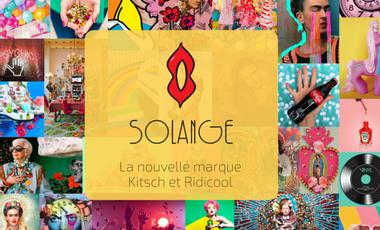 Project visual Solange - La nouvelle marque Kitsch et Ridicool !