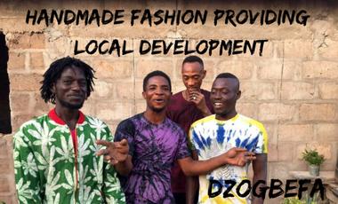 Visueel van project Une mode éthique pour un développement local !