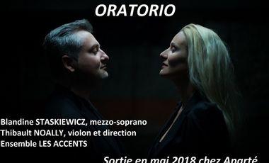 Project visual Devenez coproducteur de notre prochain CD d'airs inédits d'oratorio