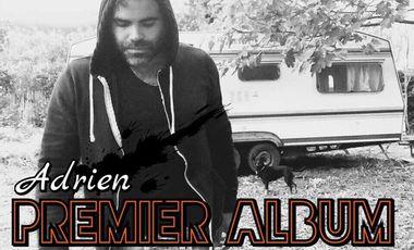 Project visual Adrien / Premier album