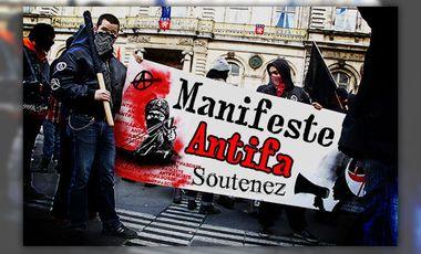 Visueel van project Manifeste Antifa