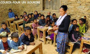 Visueel van project Les Généruneuses courent pour les enfants du Népal