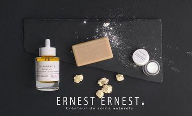 Visueel van project Ernest Ernest Cosmétiques 100% naturels, fabriqués à la main et Made in France