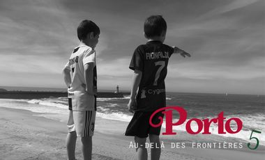 Visueel van project PORTO, au-delà des frontières