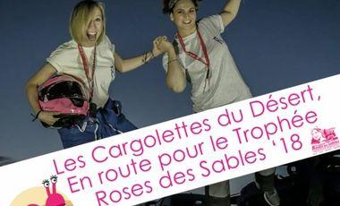 Visueel van project Les Cargolettes du Désert embarquent pour le rallye Trophée Roses des Sables 18