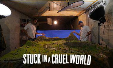 """Visueel van project FRAMIX - """"STUCK IN A CRUEL WORLD"""""""