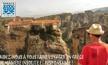 Visueel van project Découvrez la Grèce autrement - Pour voyageurs éclairés et curieux !
