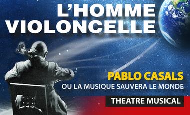 Visueel van project L'homme-violoncelle part à Avignon !
