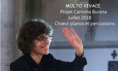 "Visueel van project PROJET CARL ORFF ""CARMINA BURANA"""