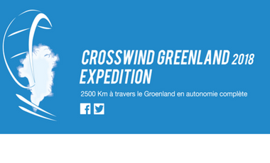 Project visual Crosswind Greenland Expedition 2018