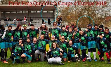 Visuel du projet Paris Frog Quidditch Coupe d'Europe 2018
