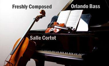 Visuel du projet Freshly Composed - Orlando Bass - Centre de Musique de Chambre de Paris