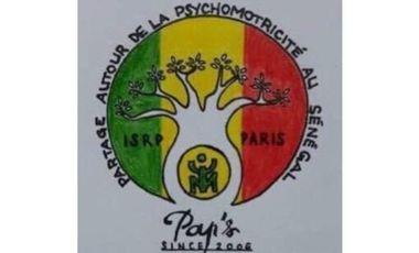 Visueel van project PAPS : Partage Autour de la Psychomotricité au Sénégal